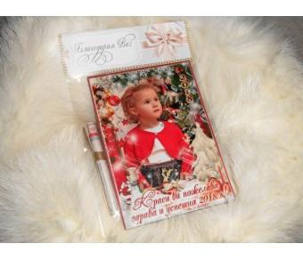 Коледни Фото Магнити с Акцент върху Снимката №01-2 - ☆.。.:* Коледни Арт Календари | Магнити | Фото Подаръци