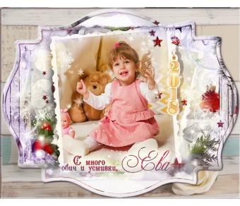 "Големи Магнити Дизайн ""Рустик"" и Винтидж Форма №01-3 - ☆.。.:* Коледни Арт Календари | Магнити | Фото"