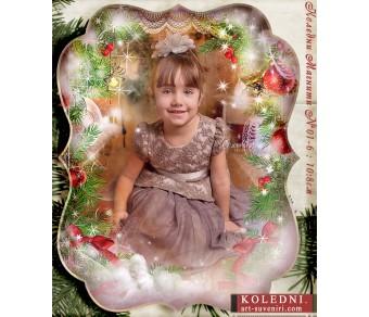 Големи Магнити с Елегантна Форма и акцент върху Снимката №01-6 - ☆.。.:* Коледни Арт Календари | Магнити |