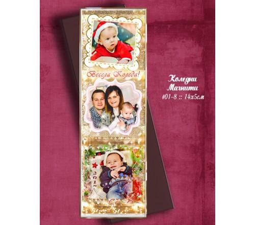 """Магнити """"Goldy"""" Серия от Снимки :: Коледни подаръчета №01-8››96"""