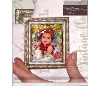 Магнити в Рамка с Коледен дизайн и акцент върху Снимката №32-2