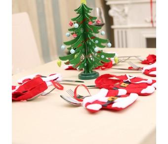 Сет от 2 бр Коледни Джобчета за Декорация или Подаръци №12-2
