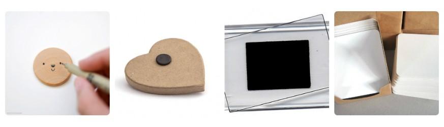 Заготовки за Производство на Магнити и Коледни Сувенири