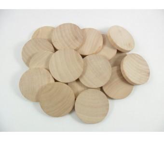Дрървени Кръгли Заготовки с Магнит №08-3